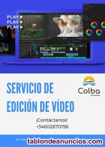 Servicio de edición de video