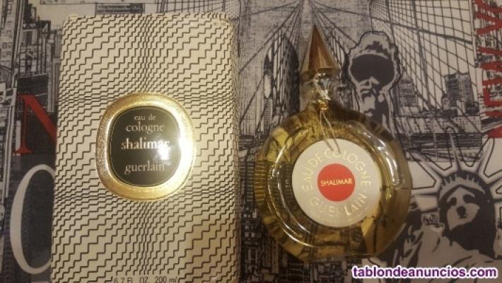 Eau de Cologne Shalimar (guerlain) Vintage
