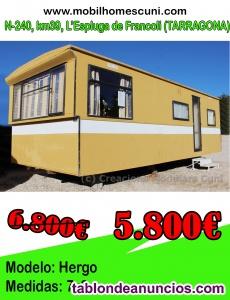 Mobil Home Hergo 7×3 r19041 2 habitaciones
