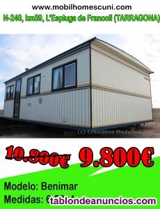 Mobil Home Benimar 6,50×4 r180015 con 2 habitaciones
