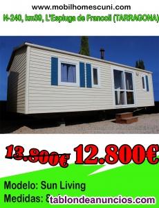 Mobil Home Sun Living 8×4 r54906-008 de 3 habitaciones