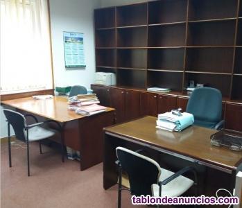 Mobiliario de oficina de subastas