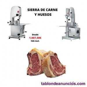 Sierra de carne y huesos. Disponible en distintas medidas.