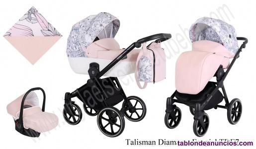 Carrito de bebe Talisman Diamante Ecopiel