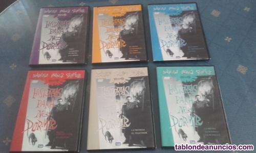 Vendo lote6 dvd historias para no dormir de chicho ibañez serrador