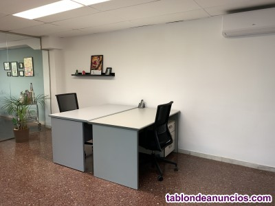 Alquilamos un espacio de oficina amueblado de 14m2