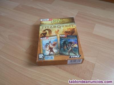 Videojuego Titan Quest Gold Edition