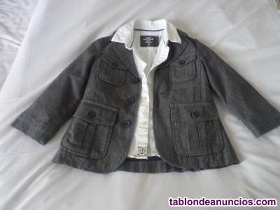 Lote de camisa y chaqueta bebé 18-24 meses (92 cm)