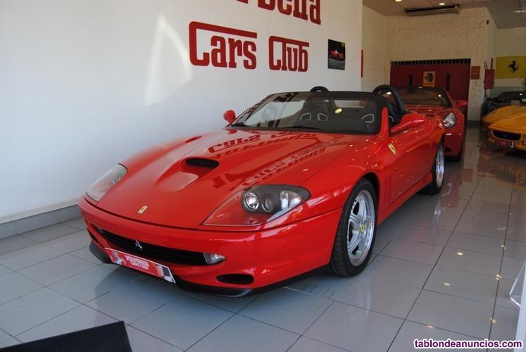 FERRARI 550 MARANELLO Barchetta, 485cv, 2p del 2001