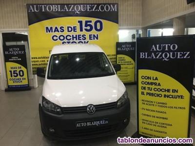 VOLKSWAGEN CADDY Furgón Economy PRO 1.6TDI 102 DSG BMT 3p, 102cv, 3p del 2013