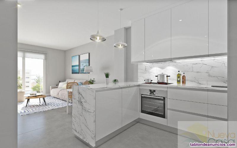 Apartamento, 70 m2, 2 dormitorios, 2 baños, Nuevo,