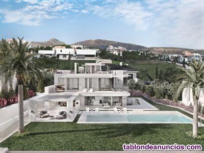 Villa con vistas al mar en Los Flamingos. Maravill