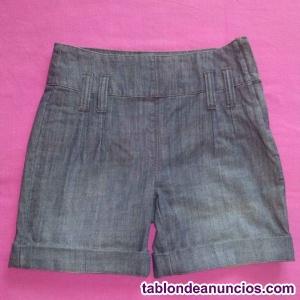 Pantalón Short Vaquero Azul
