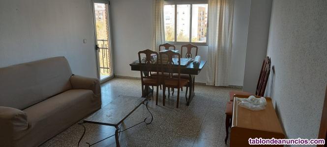 Benimaclet/3 dormitorios/2 baños/exterior