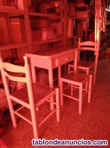Vendo mesa cocina, 2 sillas y 1 taburete