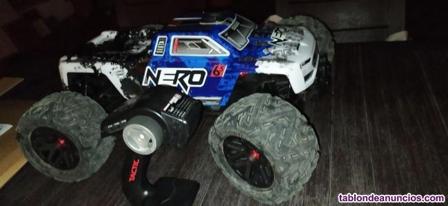 Monster Truck RC, marca ARRMA, modelo NERO 6S BLX,