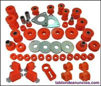 Silentblocks silemblock de suspension y tirantes y brazos trapecios  poliuretano