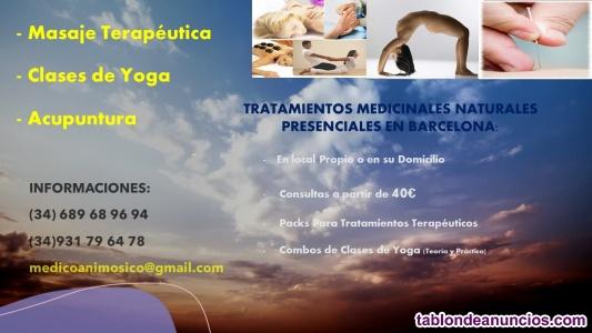 Terapias Presenciales en Barcelona