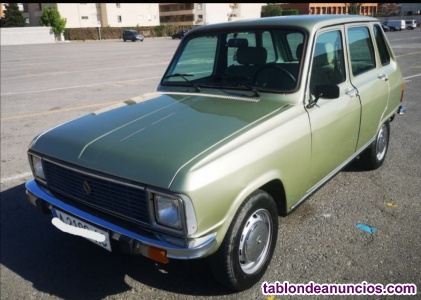 Vendo Renault 6 GTL año 1982