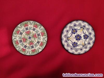 Platos de cerámica decorativos