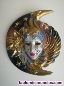 Máscara veneciana de cerámica