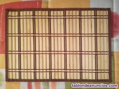 Manteles de madera fina