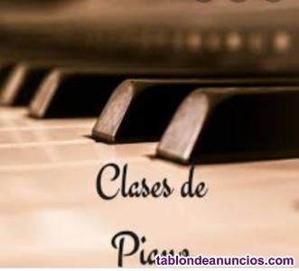Clases de piano,niños , adolescentes, adultos!!!!!!!