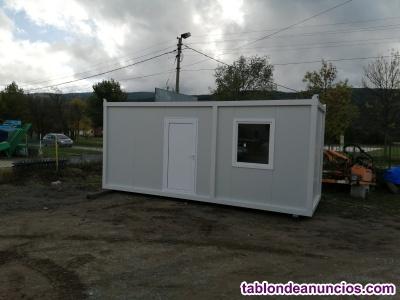 Contenedores de construcción prefabricados