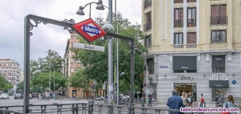Despacho en oficina compartida en Barrio Salamanca, junto al metro Goya y Prínci