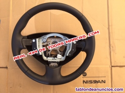 Nissan nv200 furgoneta volante de cuero nuevo original