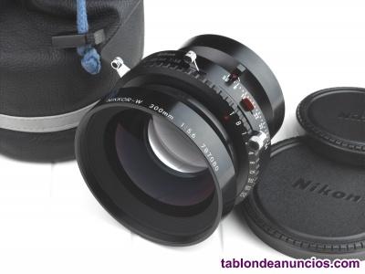 Óptica Nikkor-W 300 mm. F5.6