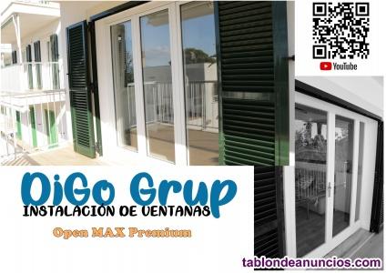 Open Max Premium-Ventana plegable hermetica