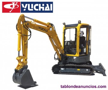 Mini-excavadora yuchai yc35sr-9 3500kg