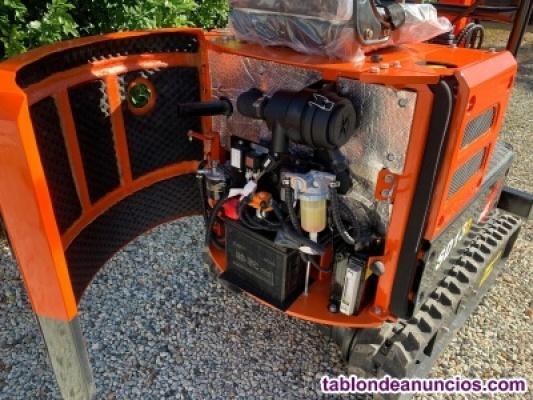 Mini-excavadora sd13d de shanding 1180kg