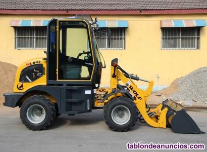 Mini pala articulada wl80s 800kg
