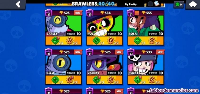 Vendo cuenta brawl stars maxeada