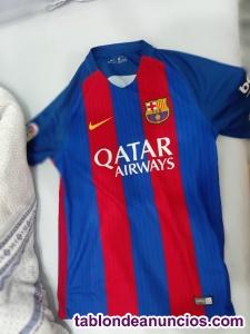 Vendo camiseta manga corta FCB