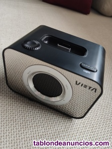 Altavoz/radio/Despertador/cargador Vieta para Ipod.