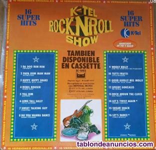 ROCK&ROLL SHOW K-TEL  VINILO 16 CANCIONES