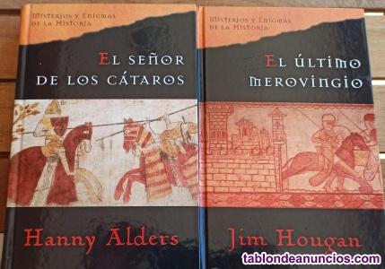 2 libros de misterio y enigmas de la historia
