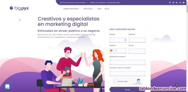 Marketing Digital y Diseño Web en Málaga y Marbella