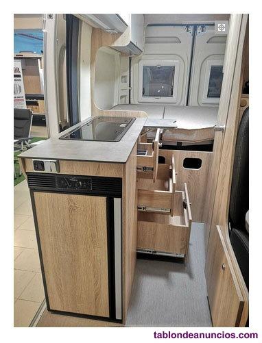 Clever vans tour 540 techo elevable