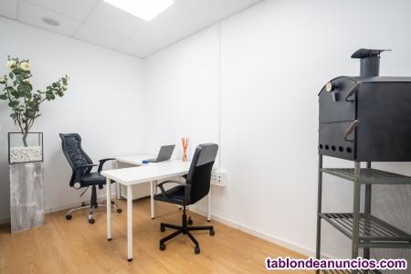 Alquiler oficinas privadas en Valencia con contrato flexible