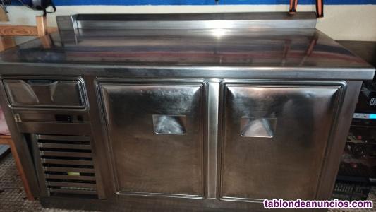 Mesa fria/bajo mostrador refrigerado