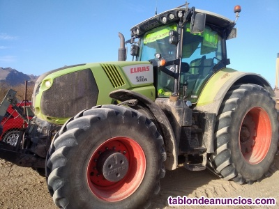 Tractor CLAAS AXION 840 de 240 cv.