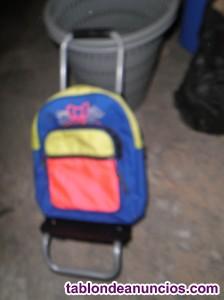 Regalo bolsa de ruedas infantil