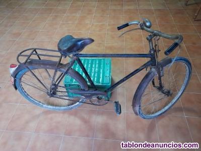Bicicleta Orbea Varilla años 50