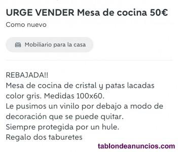 Mesa de cocina en venta por 50€