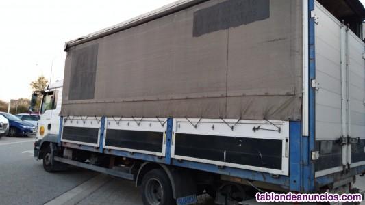 Busco trabajo con camion de 16 palets de carga autonomo