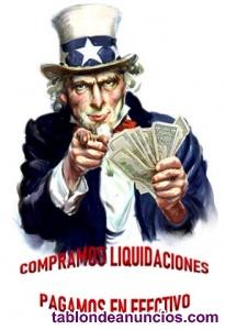 Compro Empresas en Liquidación-concurso, todo tipo de saldos de interés.